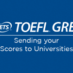 How to send GRE and TOEFL scores?