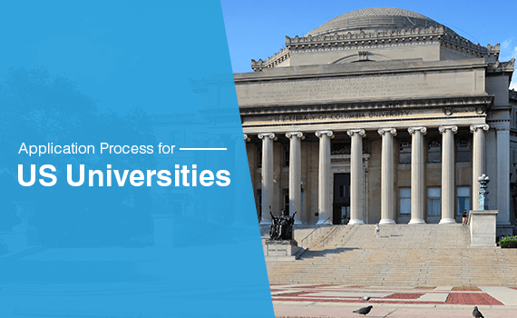 What is the application process of US universities?