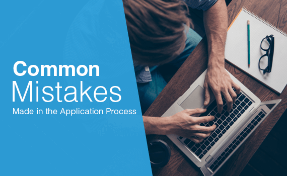 What are the common application process mistakes?