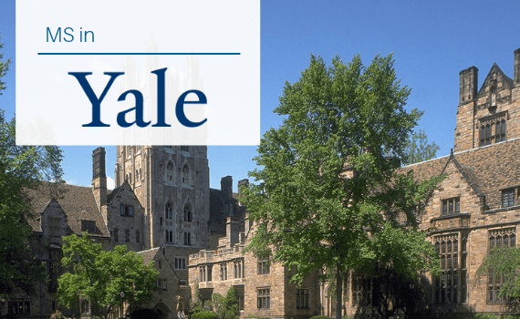 Why pursue MS in Yale University?