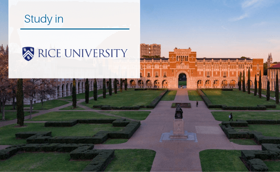 Why study MS in Rice University?