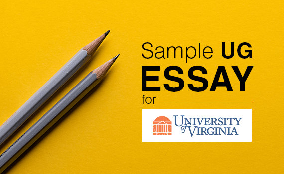 Undergrad Essay for University of Virginia