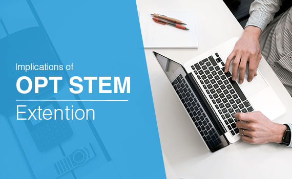 What are the implications of STEM OPT extension?