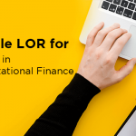 Sample LOR for MS in Computational Finance