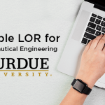 Letter of Recommendation for Aeronautical Engineering (Purdue University)