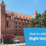 How to select the right university?