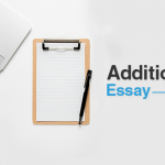 Additional Essay / Gap Year