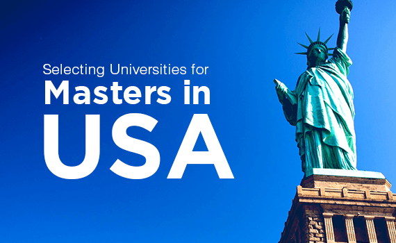Choosing the right University for Masters in USA