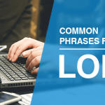 Common phrases in LOR writing
