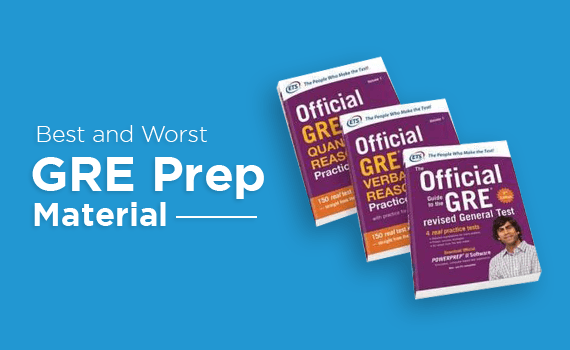 Best and worst GRE Prep Material