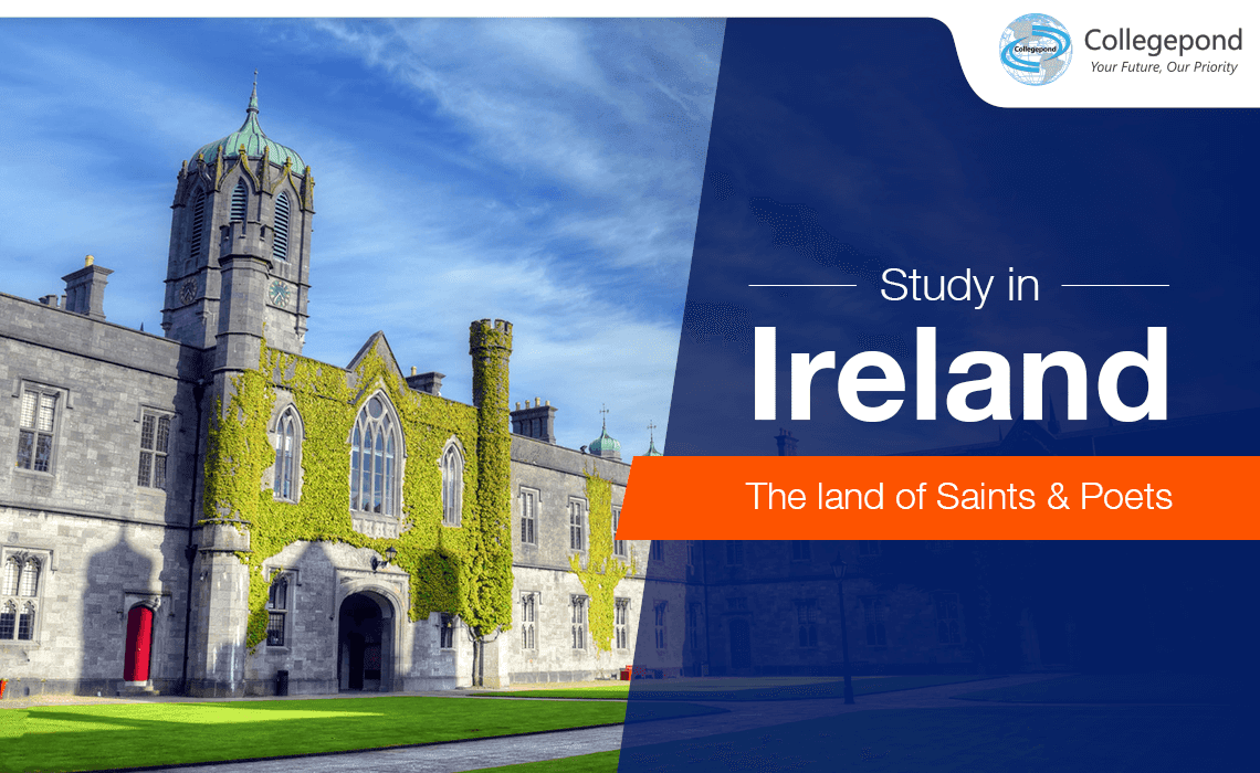 Study in Ireland, the land of Saints and Poets